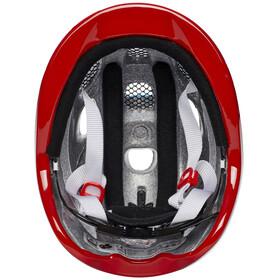 Alpina Ximo Flash Helmet Juniors red car